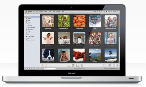 iPhoto makes it easier and includes many other incredible features. One of the new features in iPhoto 09 allows you to select pictures and upload them directly into Facebook! It is faster and easier than the Facebook app that uploads pictures from your hard drive. But there is a problem!