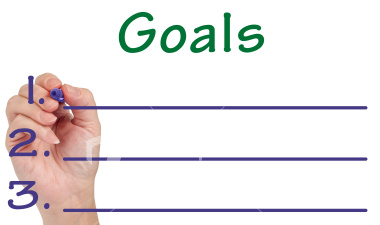A goal, in personal achievement and in a goal setting program is: The end result that you are attempting to achieve. It is the specific objective that a person or system intends to achieve.