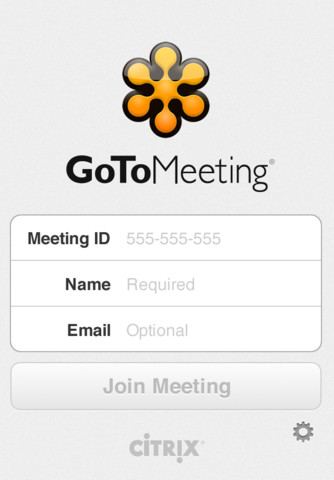 GoToMeeting by Citrix Online (iPhone iPad App) If you are on the go - and most successful people are - and you can't just sit down and find a spot to open up your laptop and join a meeting online, well, pull out the iPad or use your iPhone and use the GoToMeeting App by Citrix Online!